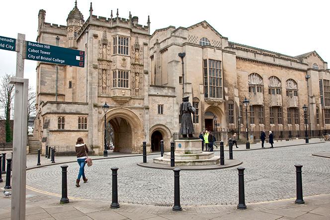 External shot of Bristol Central Library